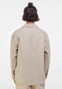 Bershka - Summer jacket - light grey - 2