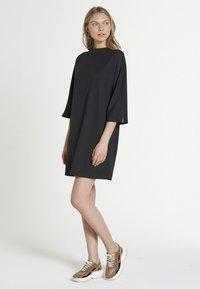 Jascha Stockholm - VOX MAROCAIN - Korte jurk - black - 1