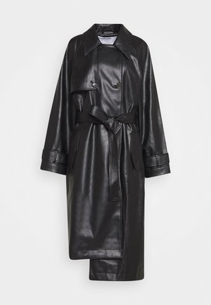 MARIE COAT - Trenchcoat - black