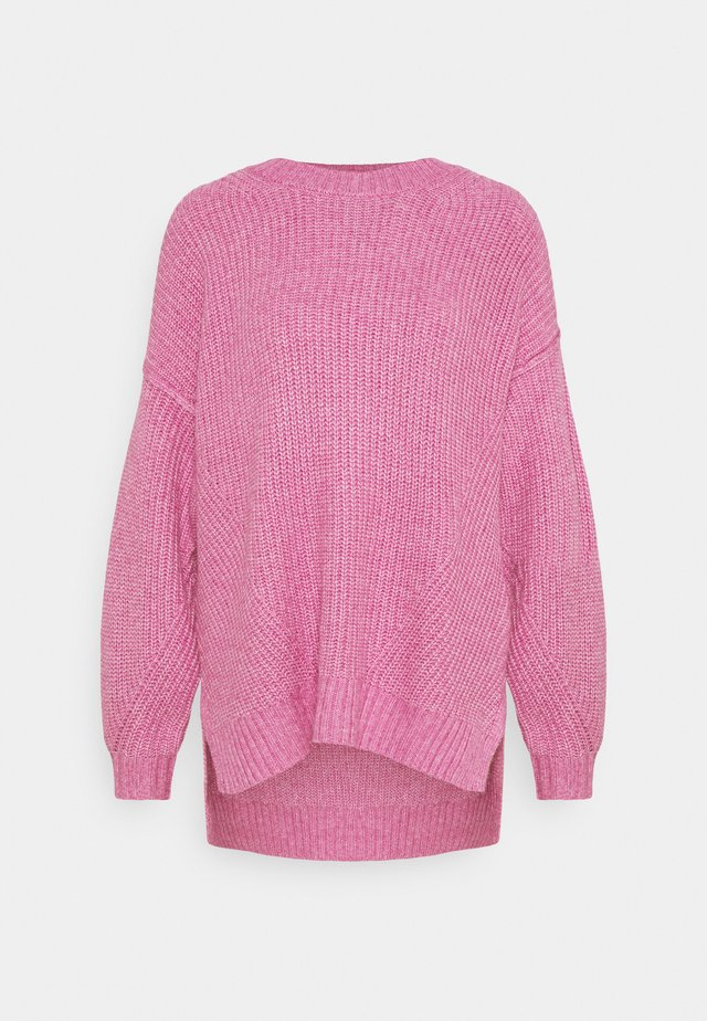 OVERSIZED CREW - Maglione - pink