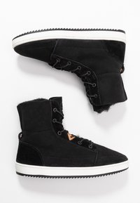 HUB - CHES 2.0 - Lace-up ankle boots - black/offwhite - 3