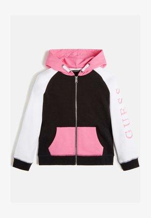 Bluza rozpinana - mehrfarbe rose