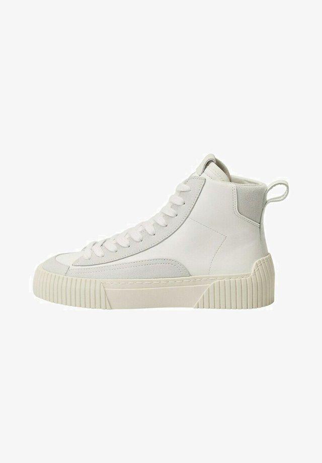 Sneakers hoog - blanc
