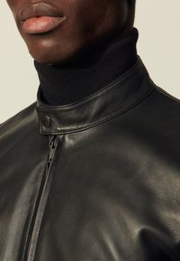 sandro - ANTHONY - Leather jacket - noir - 4