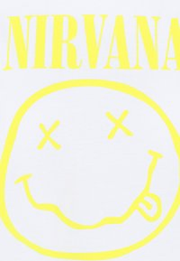 New Look - NIRVANA TEE - Print T-shirt - white - 4