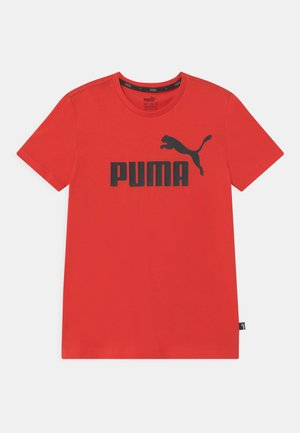 LOGO UNISEX - Printtipaita - high risk red