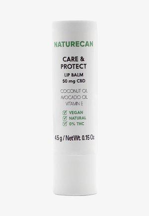 CARE AND PROTECT CBD LIP BALM - Læbepomade - -