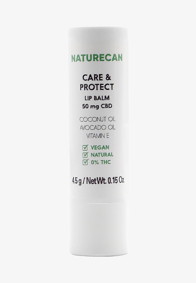 CARE AND PROTECT CBD LIP BALM - Läppbalsam - -
