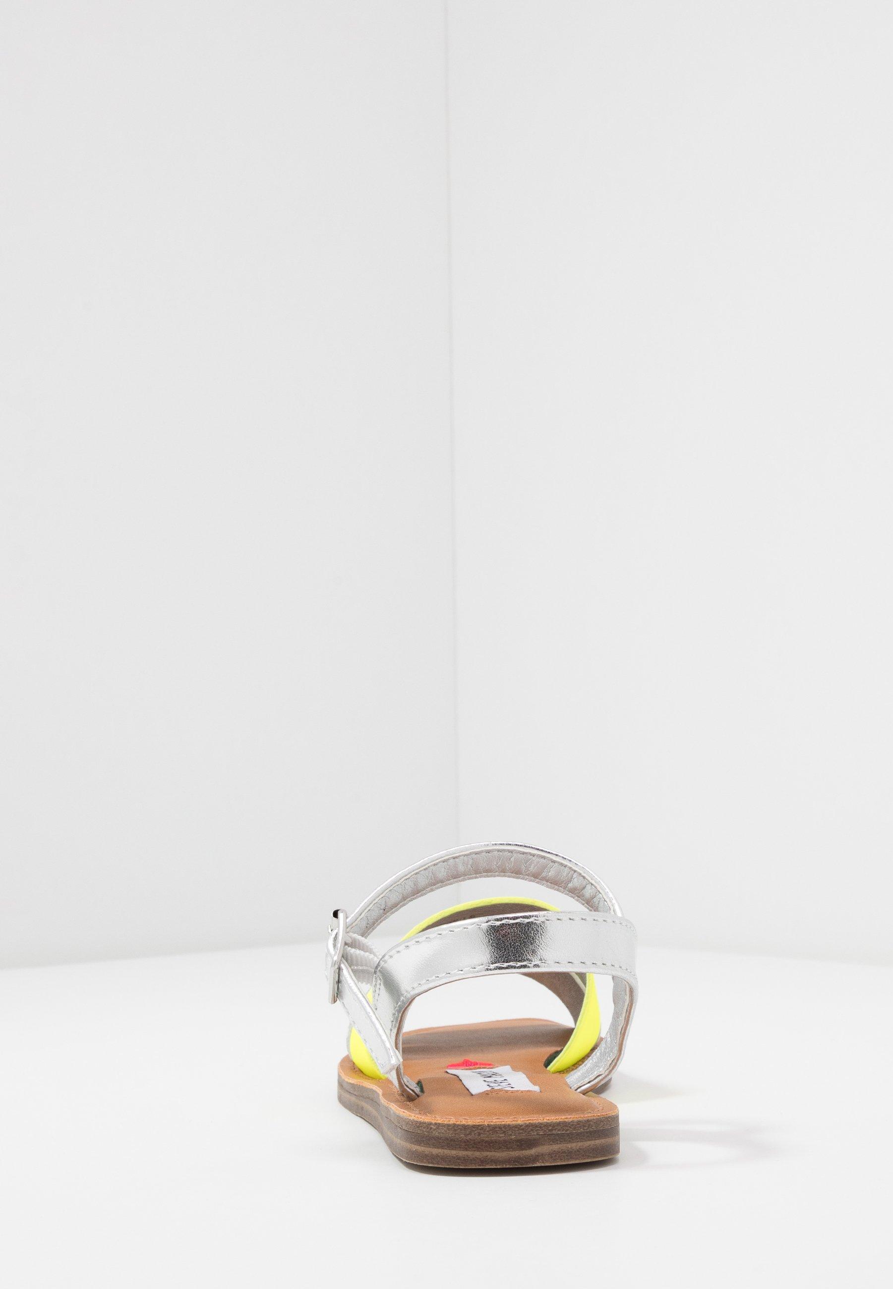 Steve Madden JALEXNDR - Sandaler - white/silver