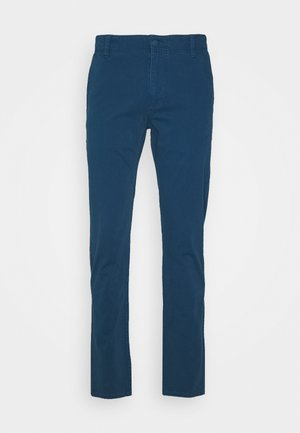SMART 360 FLEX ALPHA SKINNY - Chinos - deep blue tide