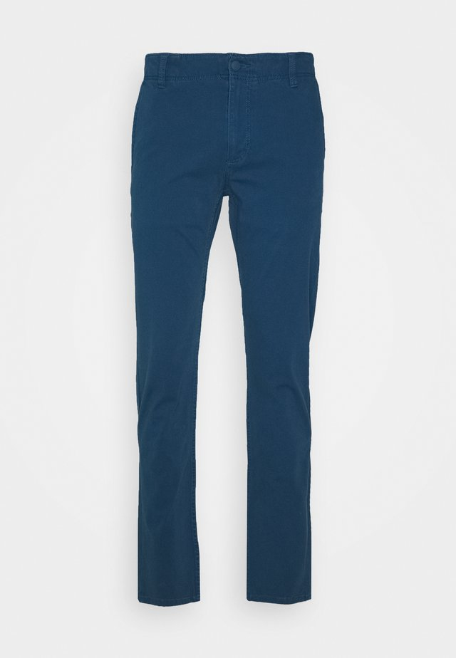 SMART 360 FLEX ALPHA SKINNY - Chino kalhoty - deep blue tide