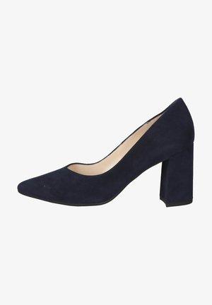 Classic heels - notte suede