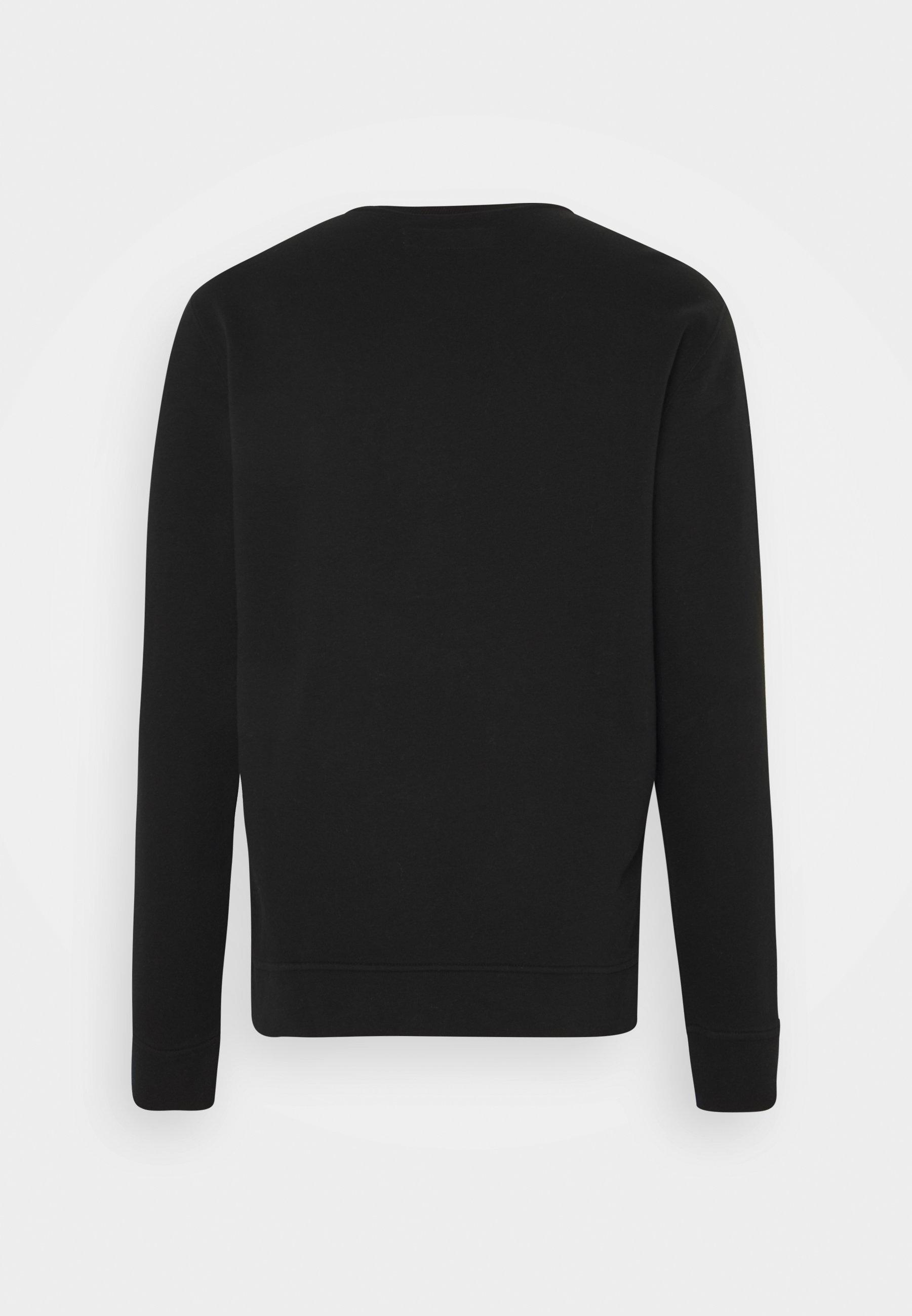 Abercrombie & Fitch Icon Crew - Bluza Black