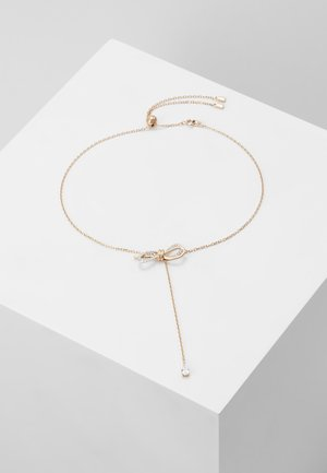 LIFELONG BOW NECKLACE - Halsband - crystal