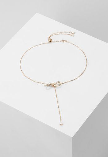 LIFELONG BOW NECKLACE - Necklace - crystal