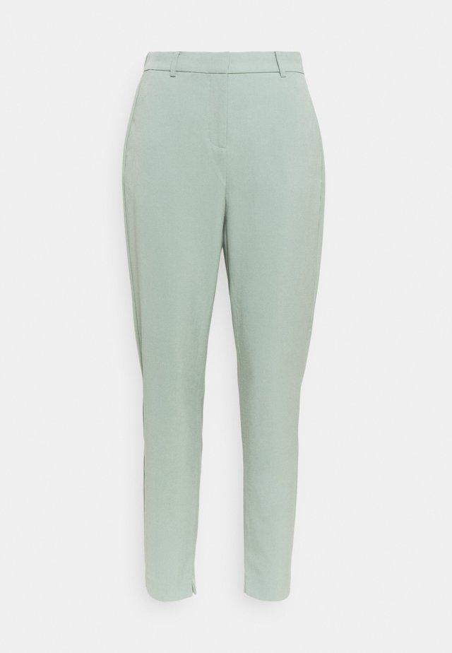 DANTA PANTS CROP - Pantalon classique - iceberg green