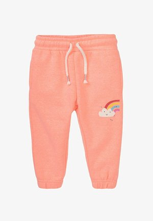 RAINBOW  - Tracksuit bottoms - coral