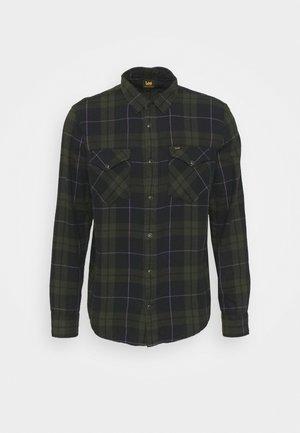 CLEAN WESTERN - Shirt - serpico green