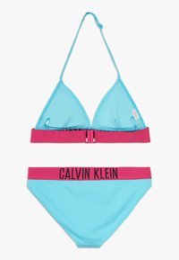 Calvin Klein Swimwear - TRIANGLE INTENSE POWER SET - Bikini - blue - 1