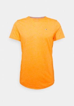 JASPE NECK - Basic T-shirt - magnetic orange