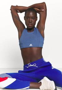 adidas Performance - PANTS - Tracksuit bottoms - bold blue - 3