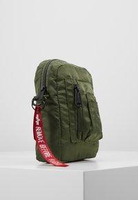 Alpha Industries - CREW CARRY BAG - Across body bag - sage green - 4