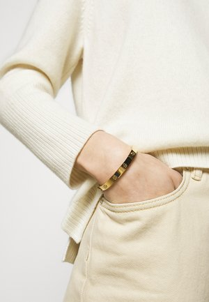 MILLER STUD HINGE BRACELET - Armband - gold-coloured