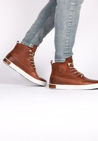 Blackstone - Höga sneakers - old yellow - 3