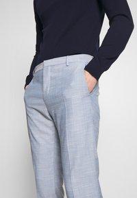 Calvin Klein Tailored - TROPICAL SLIM SUIT - Suit - blue - 7
