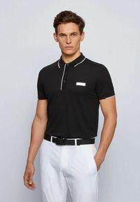 BOSS - PAUL BATCH - Polo shirt - black - 0