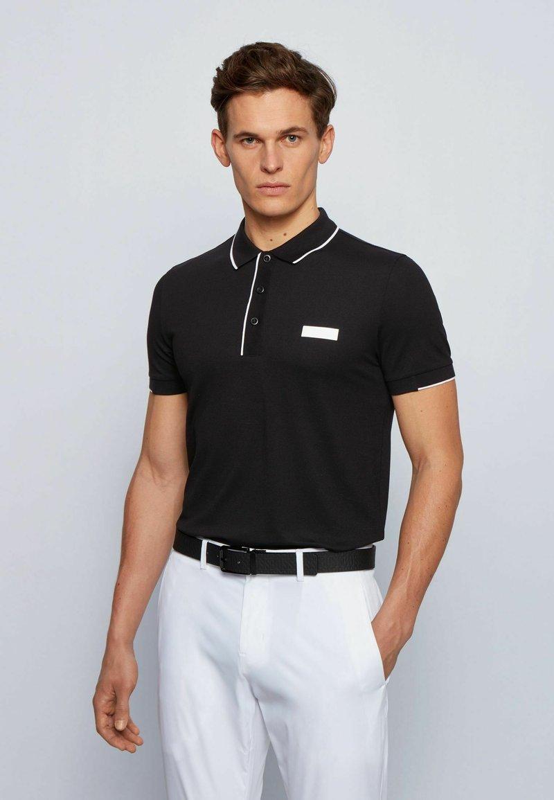 BOSS - PAUL BATCH - Polo shirt - black