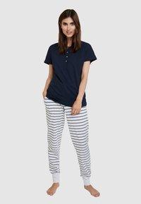 Schiesser - Pyjama bottoms - grey - 1
