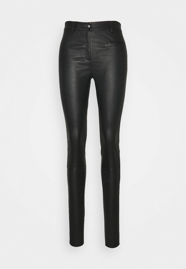 SLFURBAN STRETCH PANT - Legging - black