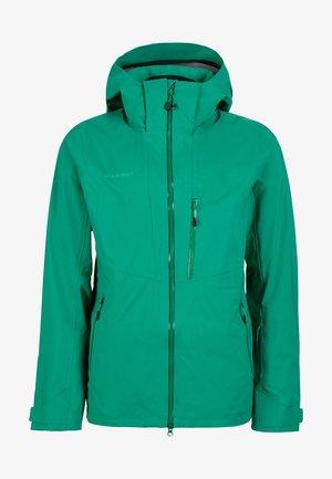 STONEY - Ski jacket - deep emerald