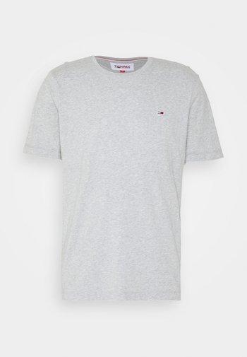 TJM CLASSIC JERSEY C NECK - T-shirt - bas - light grey heather