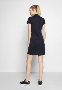 Daily Sports - SELENA CAP DRESS - Sukienka z dżerseju - navy - 2