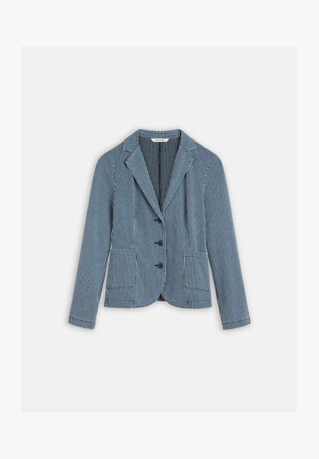 Blazer - blue denim