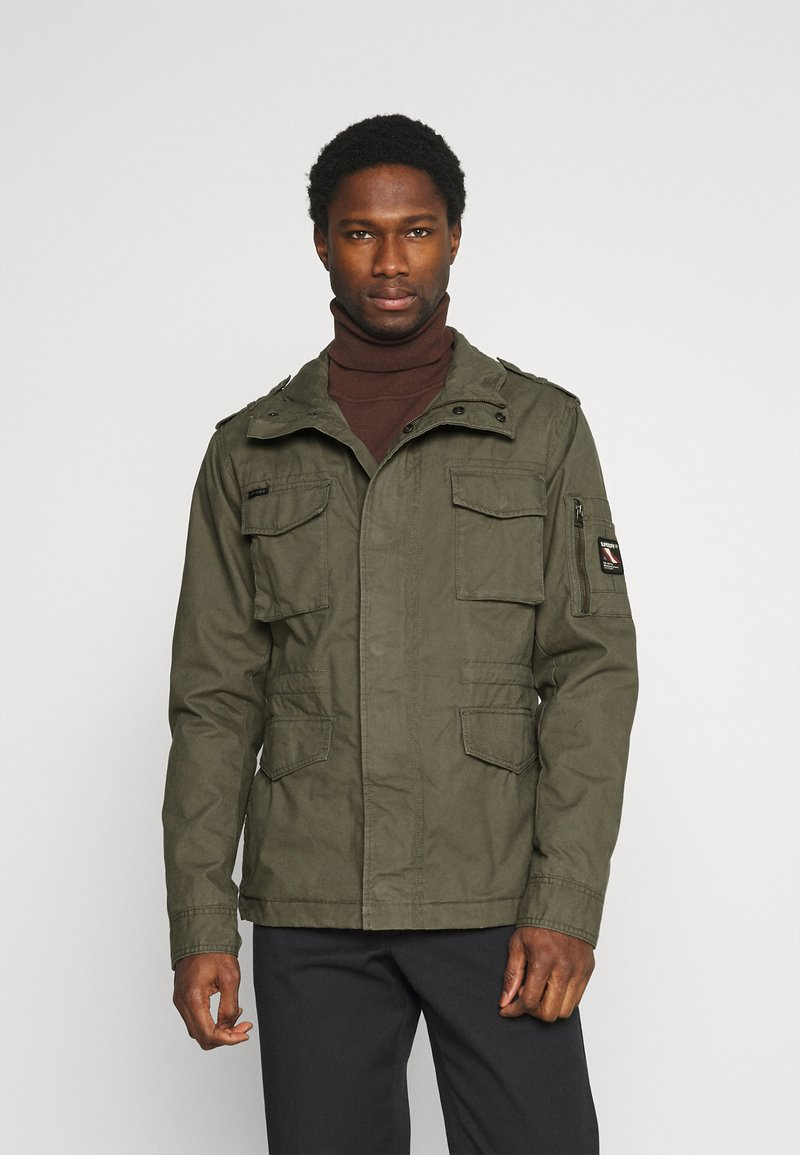 Superdry - CLASSIC ROOKIE  - Summer jacket - washed khaki