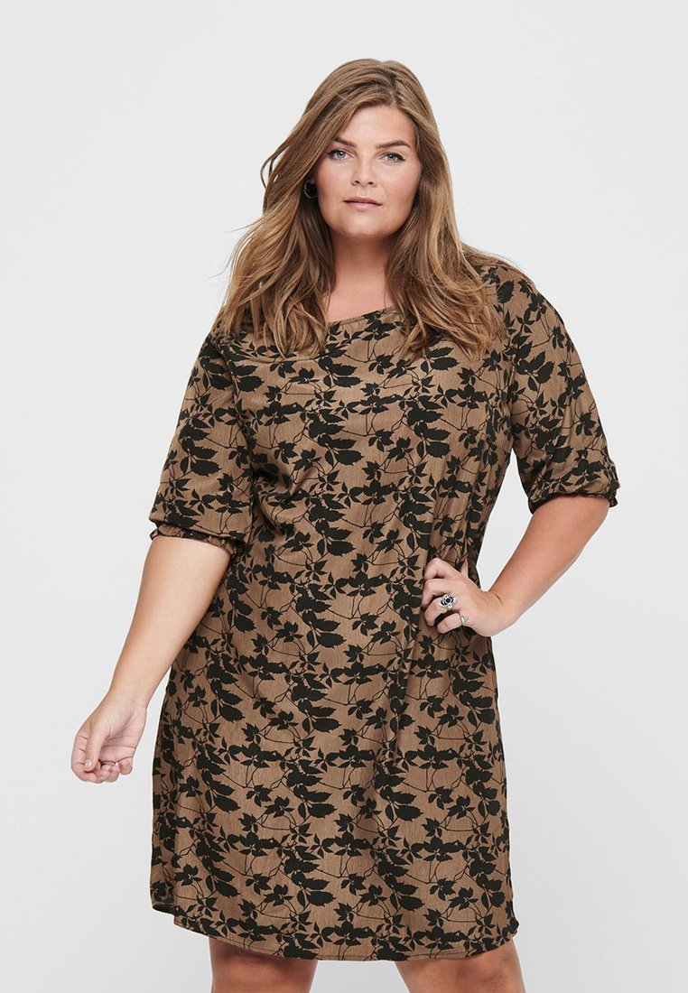 ONLY Carmakoma - Day dress - toasted coconut