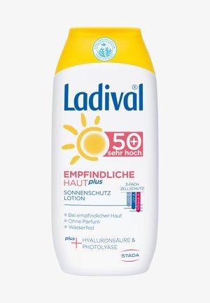 SONNENSCHUTZ EMPFINDLICHE HAUT PLUS SONNENSCHUTZ LOTION, LSF 50+ - Sun protection - -