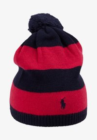 Polo Ralph Lauren - STRIPE HAT APPAREL - Čepice - navy/sport pink - 1