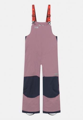RIDER UNISEX - Snow pants - light pink