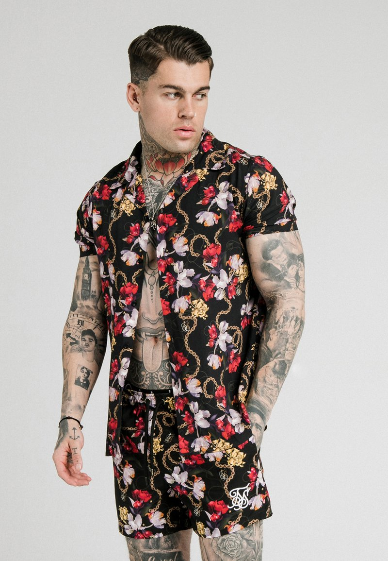 SIKSILK - STARLITE RESORT - Camisa - black