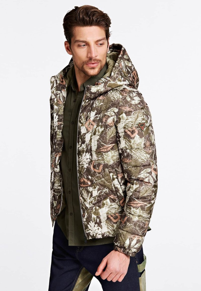 Guess - HOHEM  - Giacca invernale - brown, olive