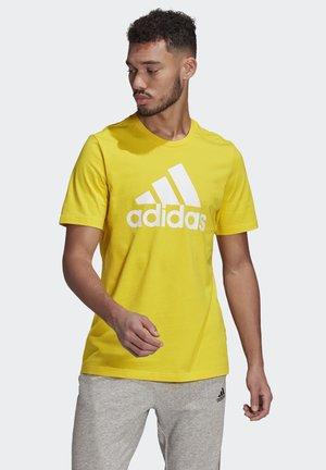 ESSENTIALS BIG LOGO T-SHIRT - Print T-shirt - yellow