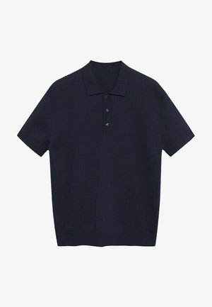 BASTOSP - Polo shirt - azul marino