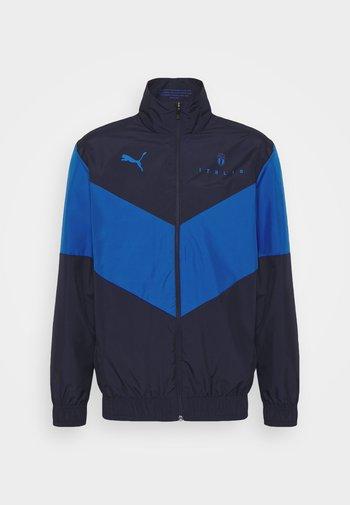 FIGC PREMATCH - Giacca sportiva - peacoat/team power blue