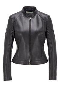 BOSS - SAFLAMA - Leather jacket - black - 0