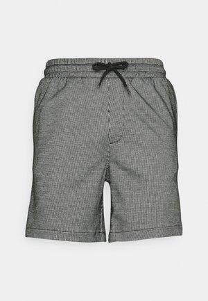 ELASTIC - Shorts - white/black