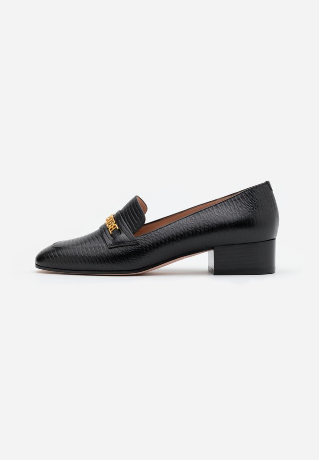 DAHLIA  - Loaferit/pistokkaat - black